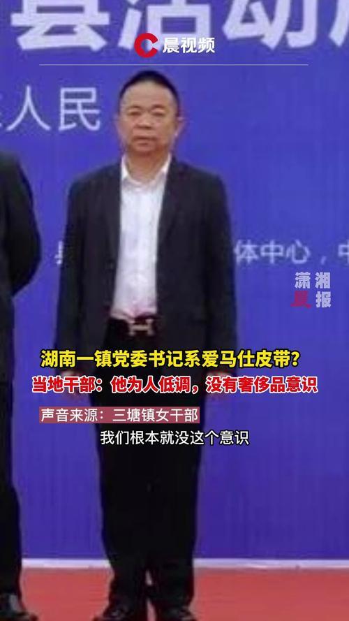湖南一镇党委书记系爱马仕皮带当地干部他为人低调没有奢侈品意识
