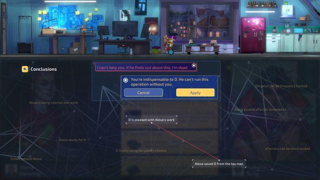 赛博朋克推理游戏罪城骇客今日steam发售