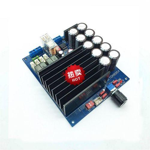 hifi发烧级tda8954th数字功放板 d类功放模块 大功率双声道2*210w
