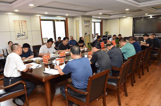 晋城市应急管理局党委召开会议对防汛工作再动员再安排再部署