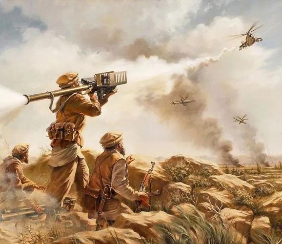 在苏阿战争中,基地组织创立了在苏阿战争后,塔利班崛起了(图:wiki)▼