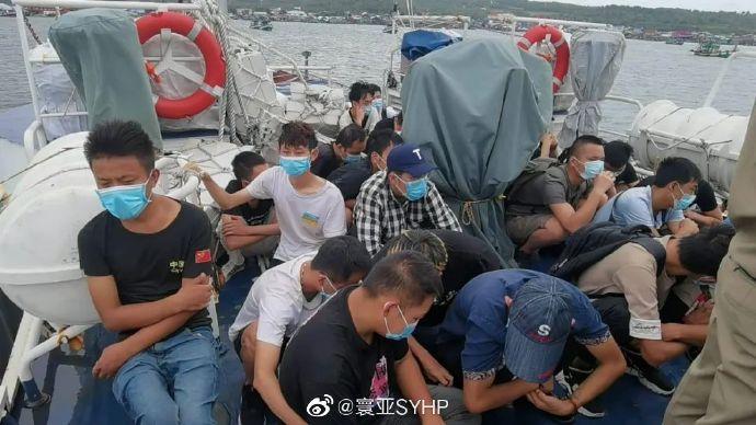 36名中国人偷渡柬埔寨西港