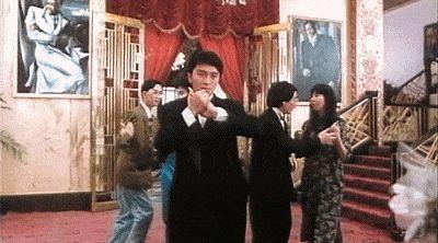 影片直接照搬了他和吴孟达《伙头福星》的角色和造型,黎明饰演了一个