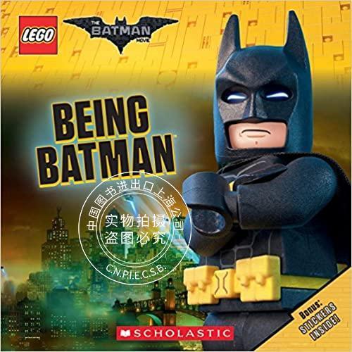 现货 乐高蝙蝠侠大电影故事书 英文原版 being batman