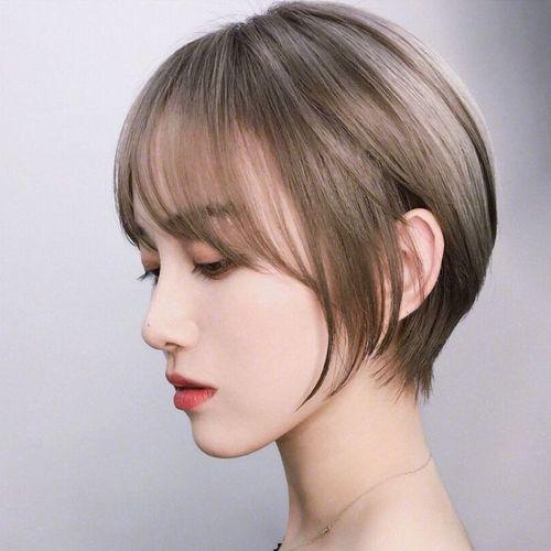 头型又小又尖的女生适合什么发型
