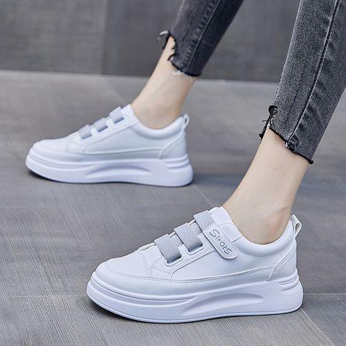 新款女士休闲鞋 百搭板鞋女运动休闲鞋 春季女鞋小白