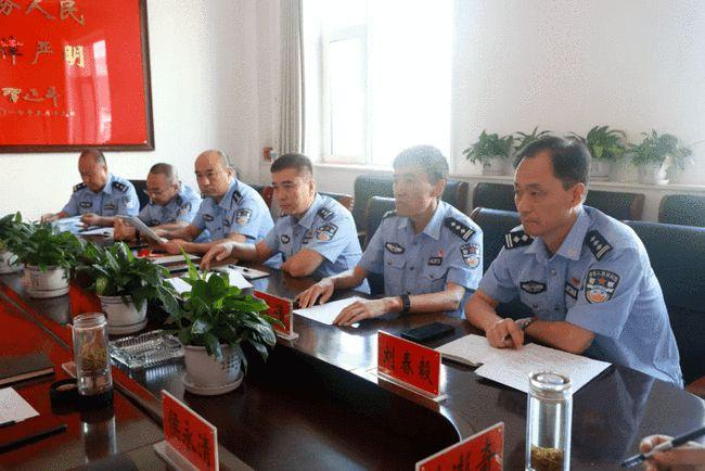 中阳县局召开涉法涉诉重点疑难分析研判会
