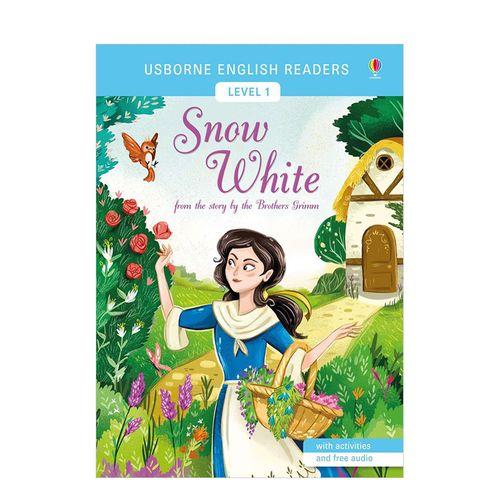 【lv1】snow white白雪公主 英文原版儿童故事分阶阅读 usborne